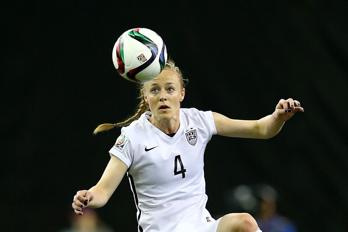 FC Kansas City's Becky Sauerbrunn has been key to shutting out almost everyone