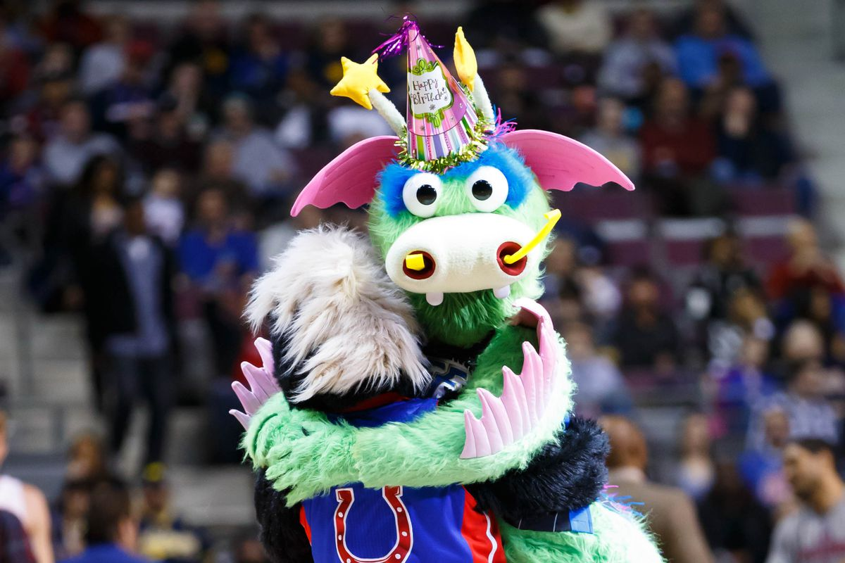 The Orlando Magic mascot is a Disney fantasy/nightmare
