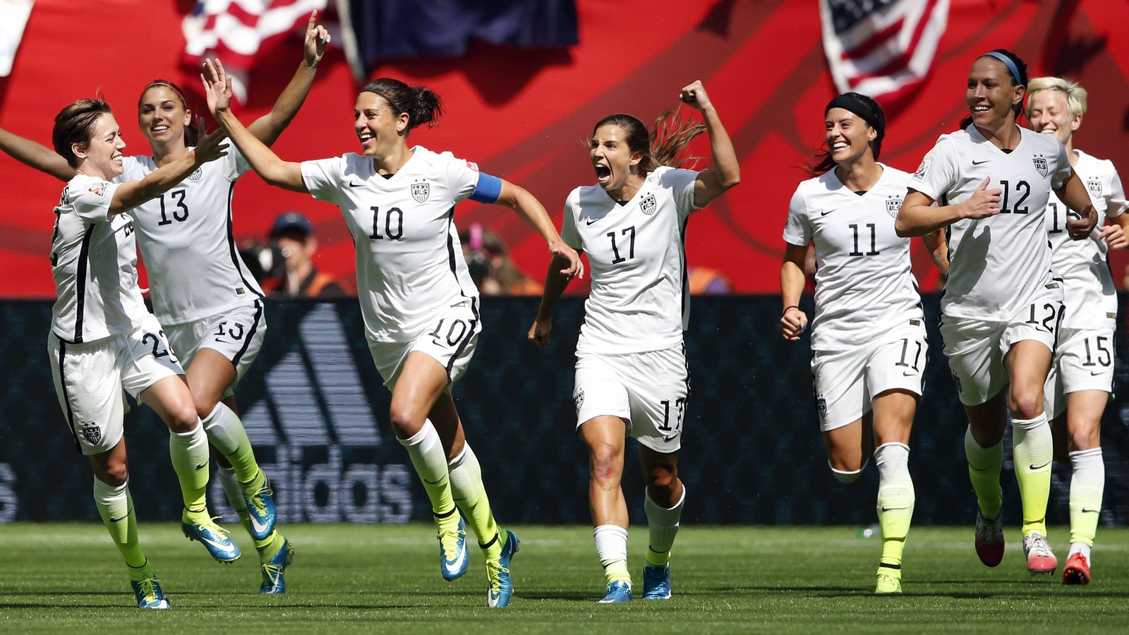 Uswnt wins the world cup with 5 2 victory over japan sbnation publicscrutiny Image collections