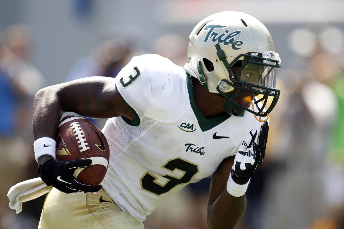 """Tre McBride has the potential to be a high caliber receiver """"in the NFL and would be a quality selection for the Broncos in the third our fourth round."""