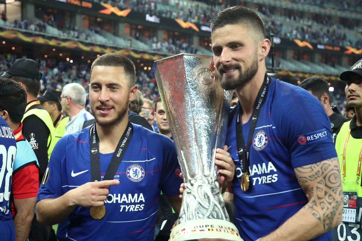 Eden Hazard Named 2018 19 Europa League Player Of The Season Despite Barely Playing In The Europa League We Ain T Got No History