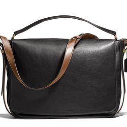 "<a href=""http://f.curbed.cc/f/Coach_SP_031214_postmanbag"">Mercer Postman Bag in Leather</a>, $698"
