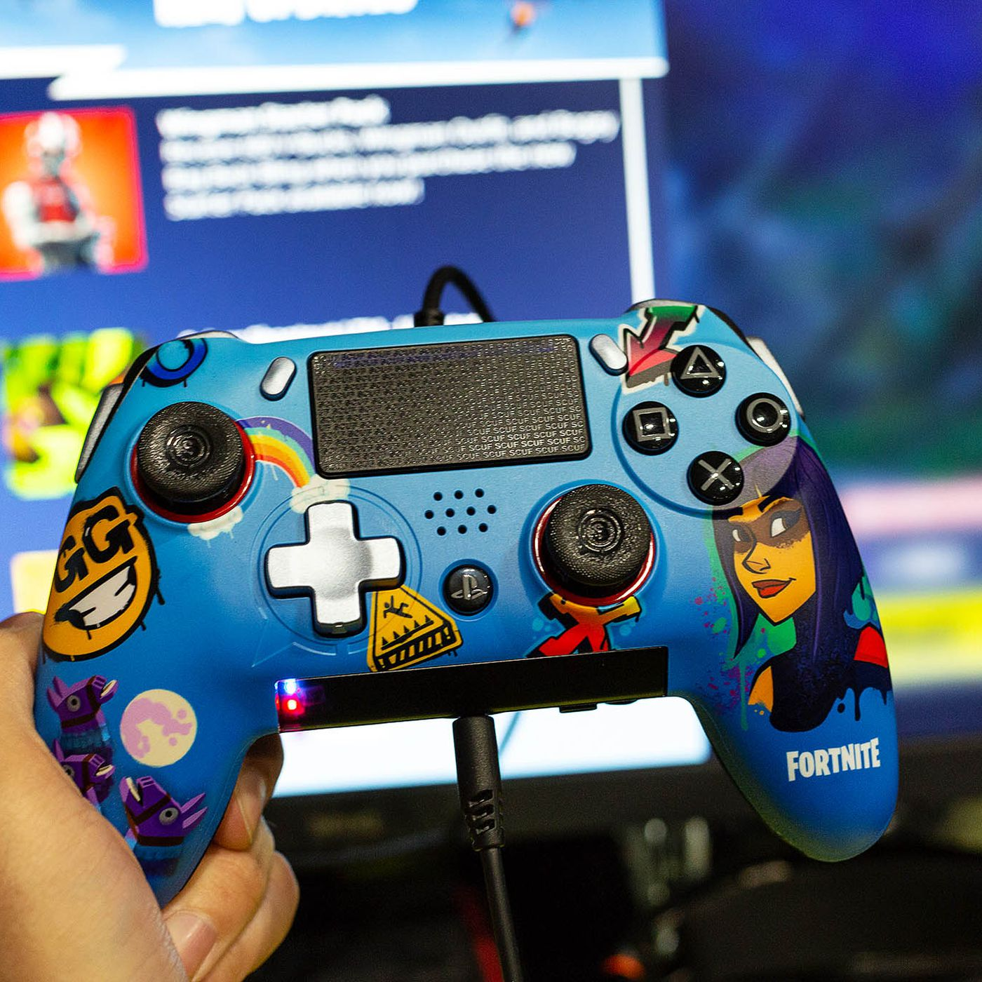 The Scuf Vantage is a Fortnite player's dream PS4 controller