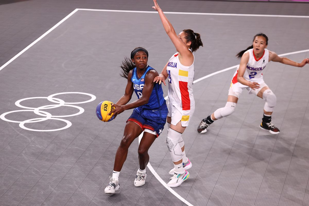 USA Women's National 3x3 Team vs Mongolia Women's National 3x3 Team