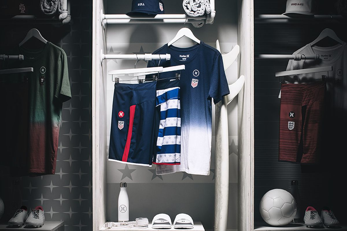 Hurley s Team USA collection for men (and only men) - Stars and ... ad4a94246923