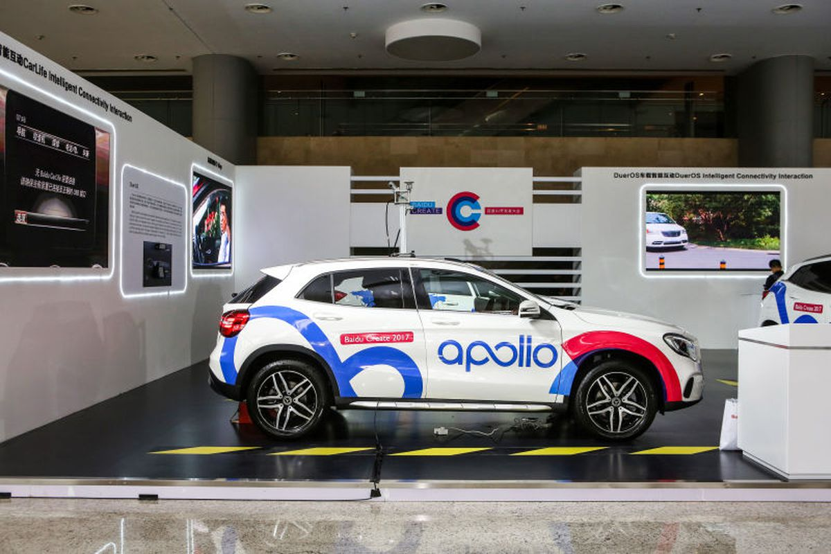 Baidu gets the green light to test self-driving cars in China - The ...
