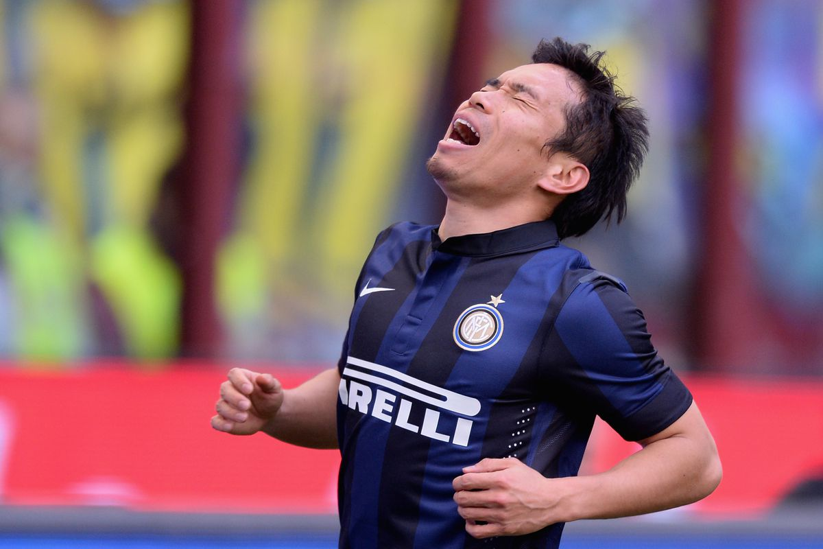 Nagatomo feels the sting of defeat to rivals, Juventus