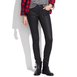 """I love this new take on a classic black skinny; the coating adds an extra edge."" <a href=""https://www.madewell.com/madewell_category/DENIM/skinnyskinny/PRDOVR~03740/03740.jsp"">Skinny Skinny Coated Jeans</a>, $135"