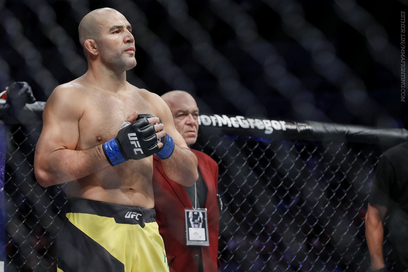 Glover Teixeira injured, out of UFC Sao Paulo main event