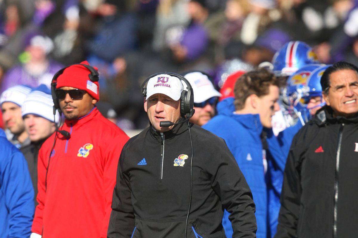 NCAA Football: Kansas at Kansas State