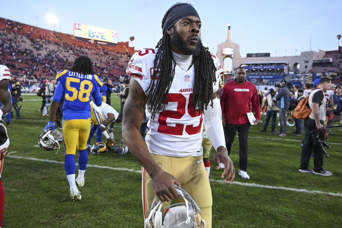 super popular 48c89 392b2 How poorly did Richard Sherman do representing himself in ...