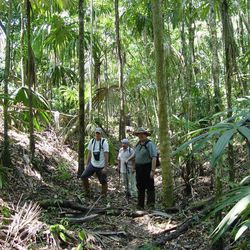 Richard Terry and several other researchers from BYU traveled to Tikal, Guatemala, to use soil analysis to identify fields where the ancient Maya people grew corn.