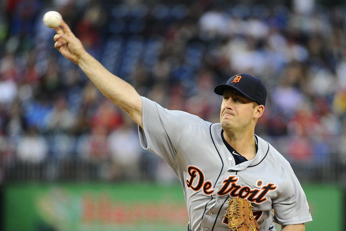 MLB: Detroit Tigers at Washington Nationals