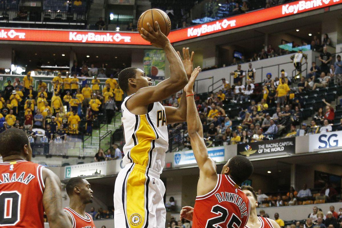NBA: Preseason-Chicago Bulls at Indiana Pacers