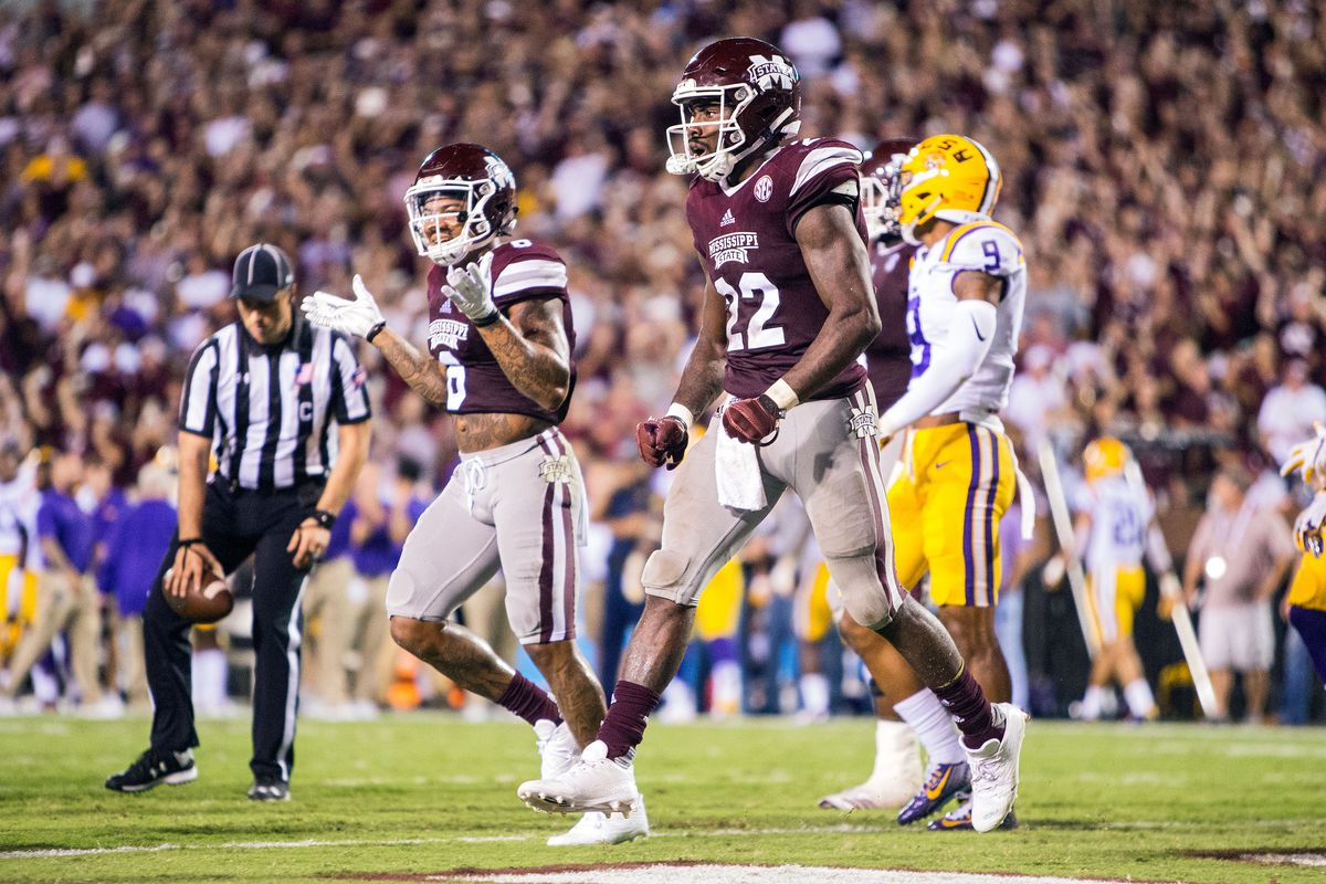 COLLEGE FOOTBALL: SEP 16 LSU at Mississippi State