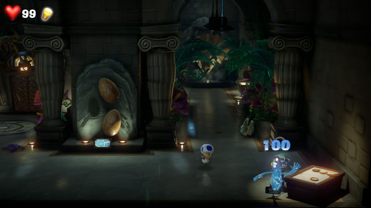 Luigi's Mansion 3 9F clear gem location