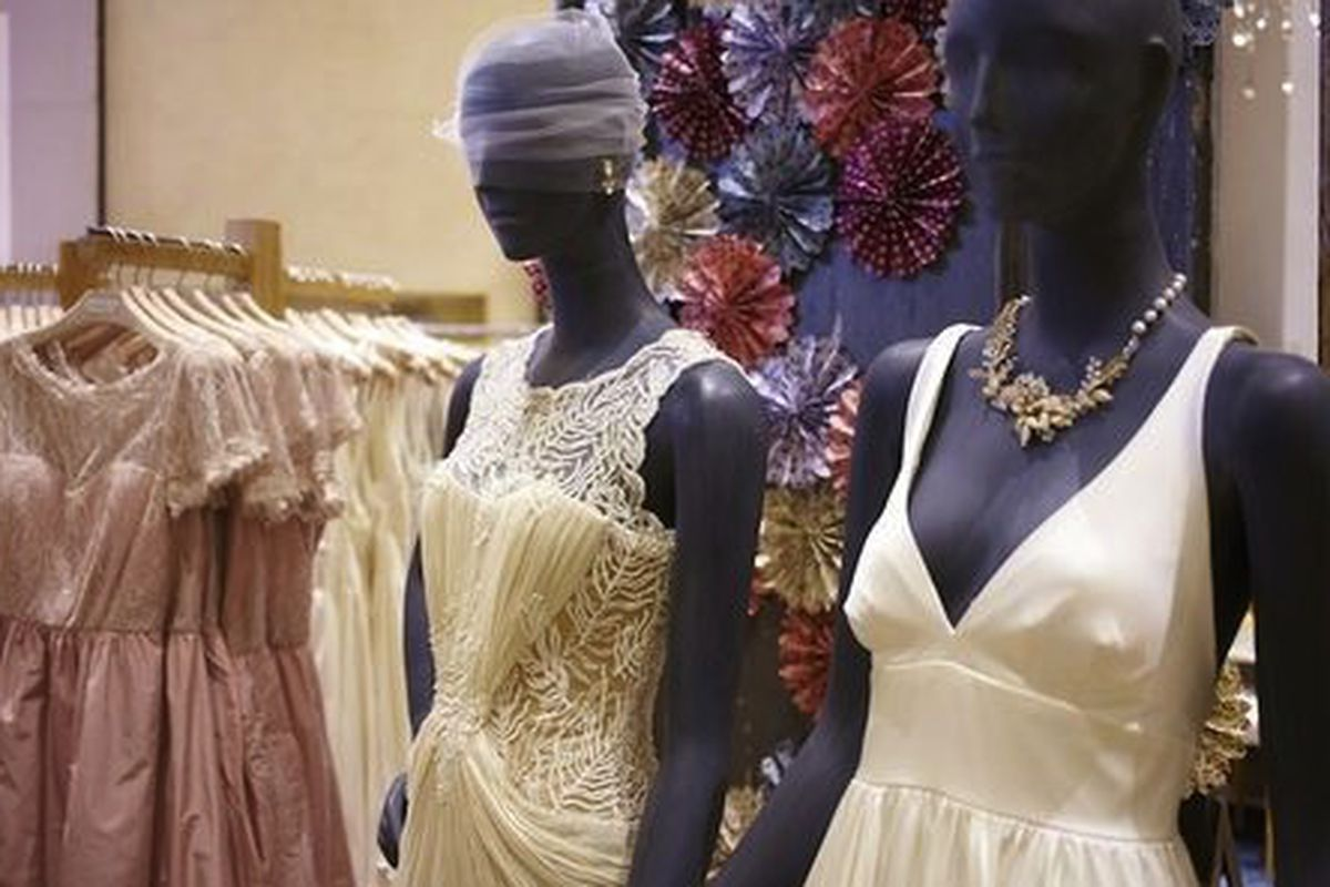 An image from the BHLDN pop-up shop at Anthropologie in October