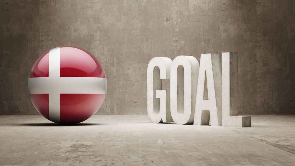A Danish goal.