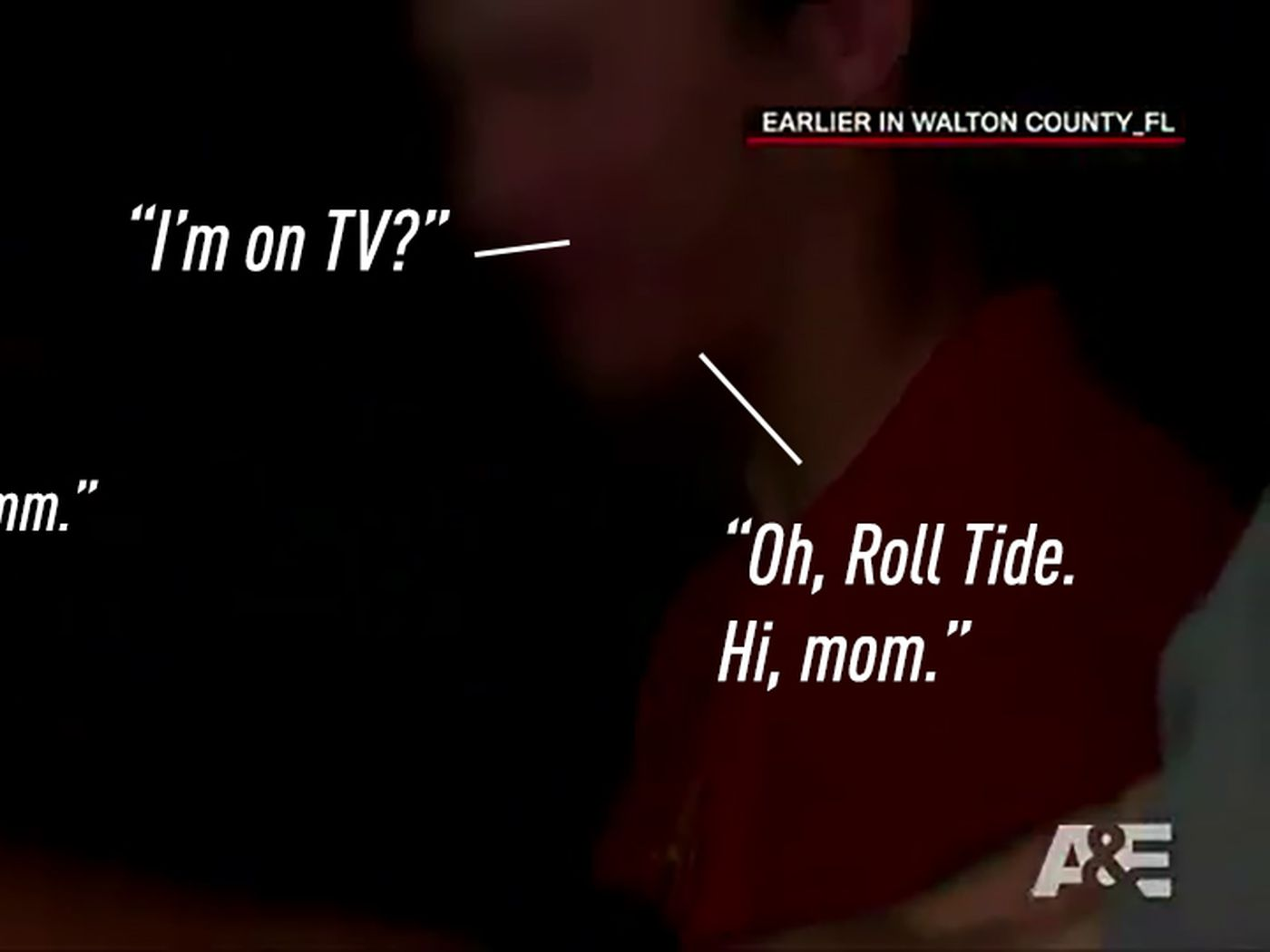 An Intimate History Of People Saying Roll Tide While Getting Arrested Sbnation Com