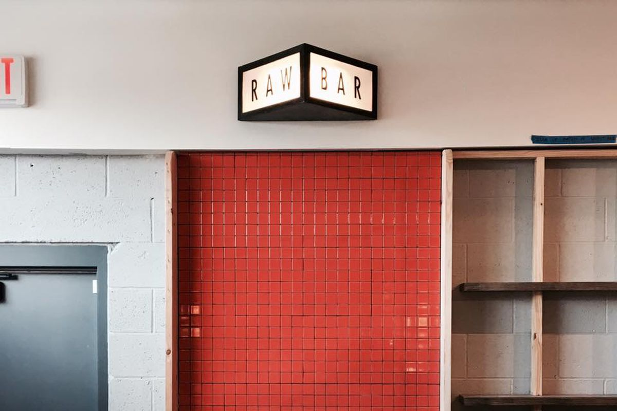 raw bar red tile