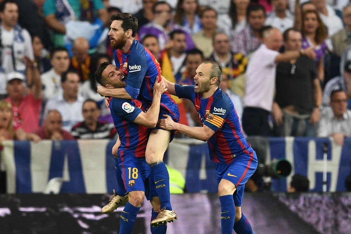 2 Real Madrid 2017 La Liga: Real Madrid Vs. Barcelona, La Liga 2017: Final Score 2-3
