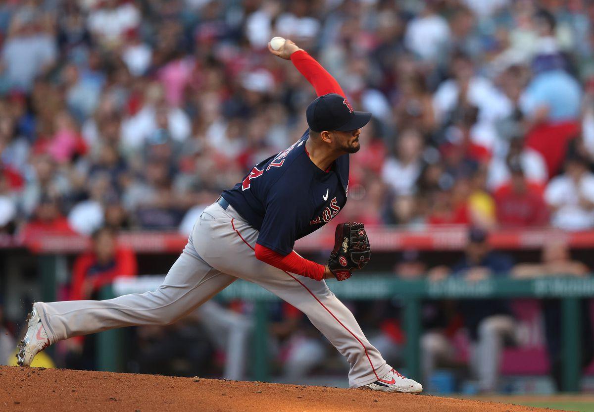 Boston Red Sox v Los Angeles Angels