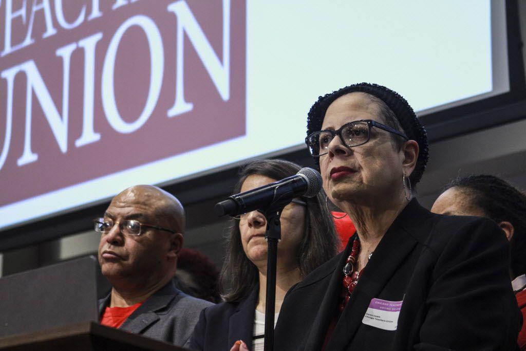 Karen Lewis, the Chicago Teachers Union president. | Maria Cardona / Sun-Times