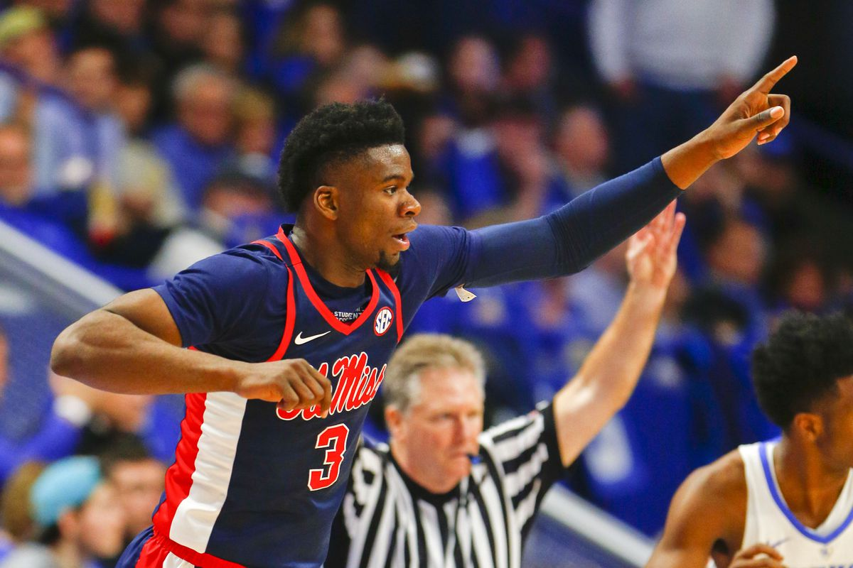 Ole Miss basketball's Terence Davis has declared for the NBA Draft