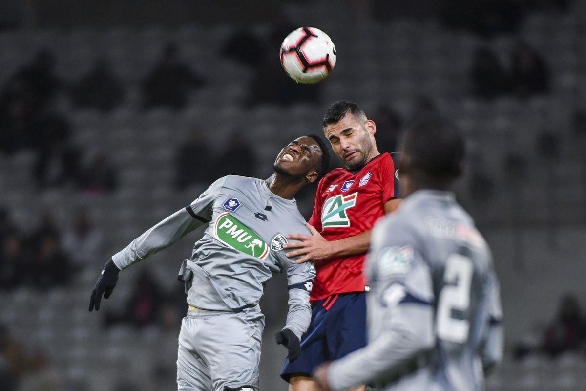 Lille OSC v Sochaux FCSM - French Cup