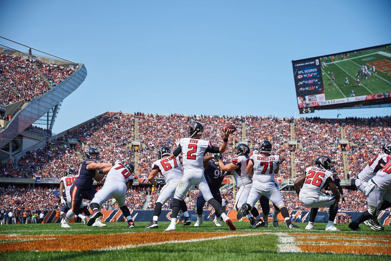 NFL: SEP 10 Falcons at Bears