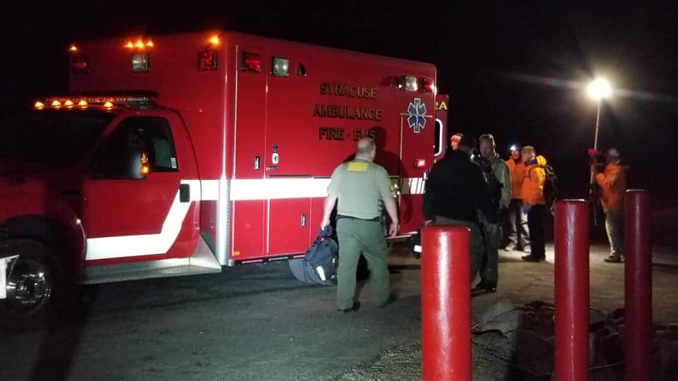Two missing kayakers who were on the Great Salt Lake without life jackets when stormy weather rolled in were found safe early Friday, Sept. 20, 2019, after a nearly six hour search.