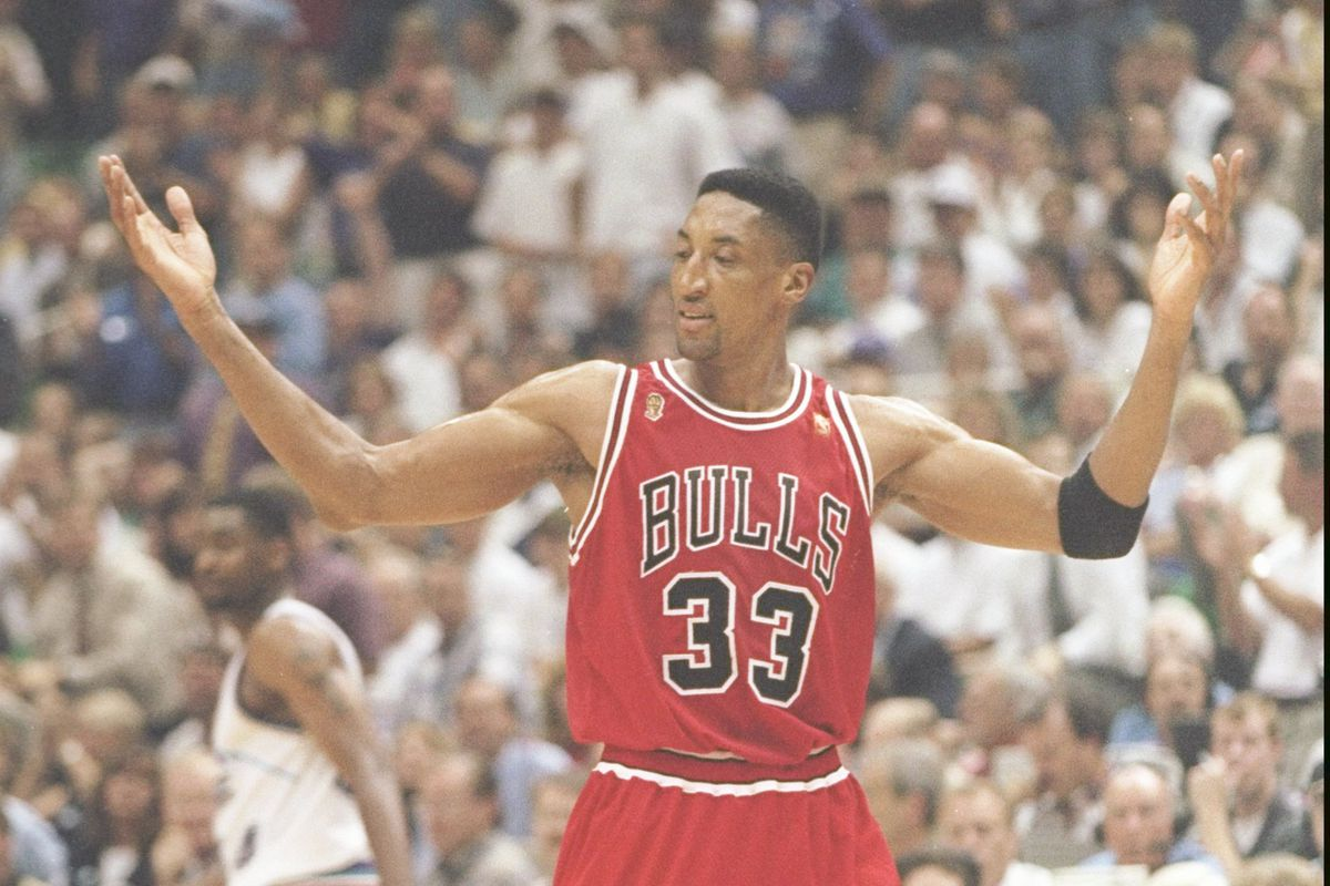 Scottie Pippen s steal to seal the 1997 NBA Finals remembered