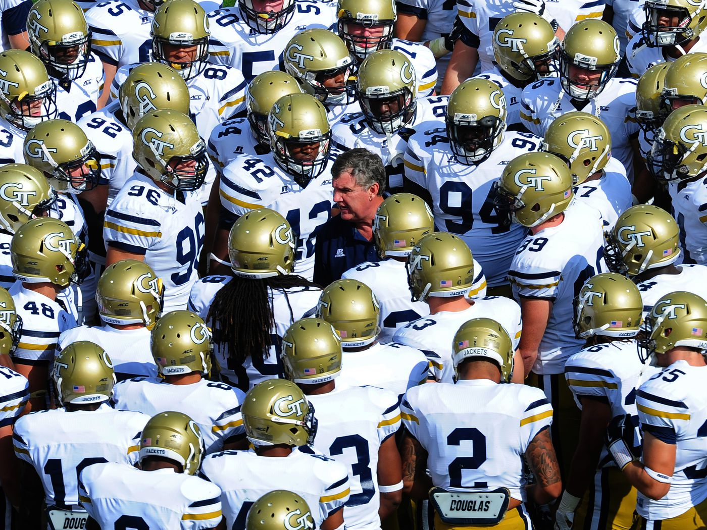 Georgia Tech Football Vs Unc 2014 How To Watch Online Tv Schedule Betting Odds More From The Rumble Seat