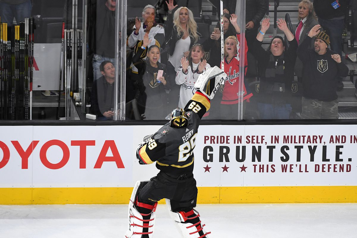 NHL: Washington Capitals at Vegas Golden Knights