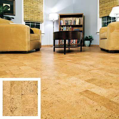 Cork Floor In Living Room