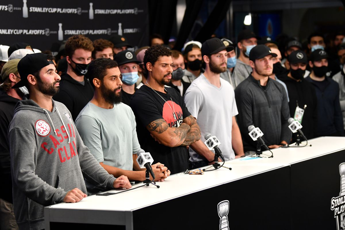 2020 NHL Stanley Cup Playoffs - Edmonton - Press Conference