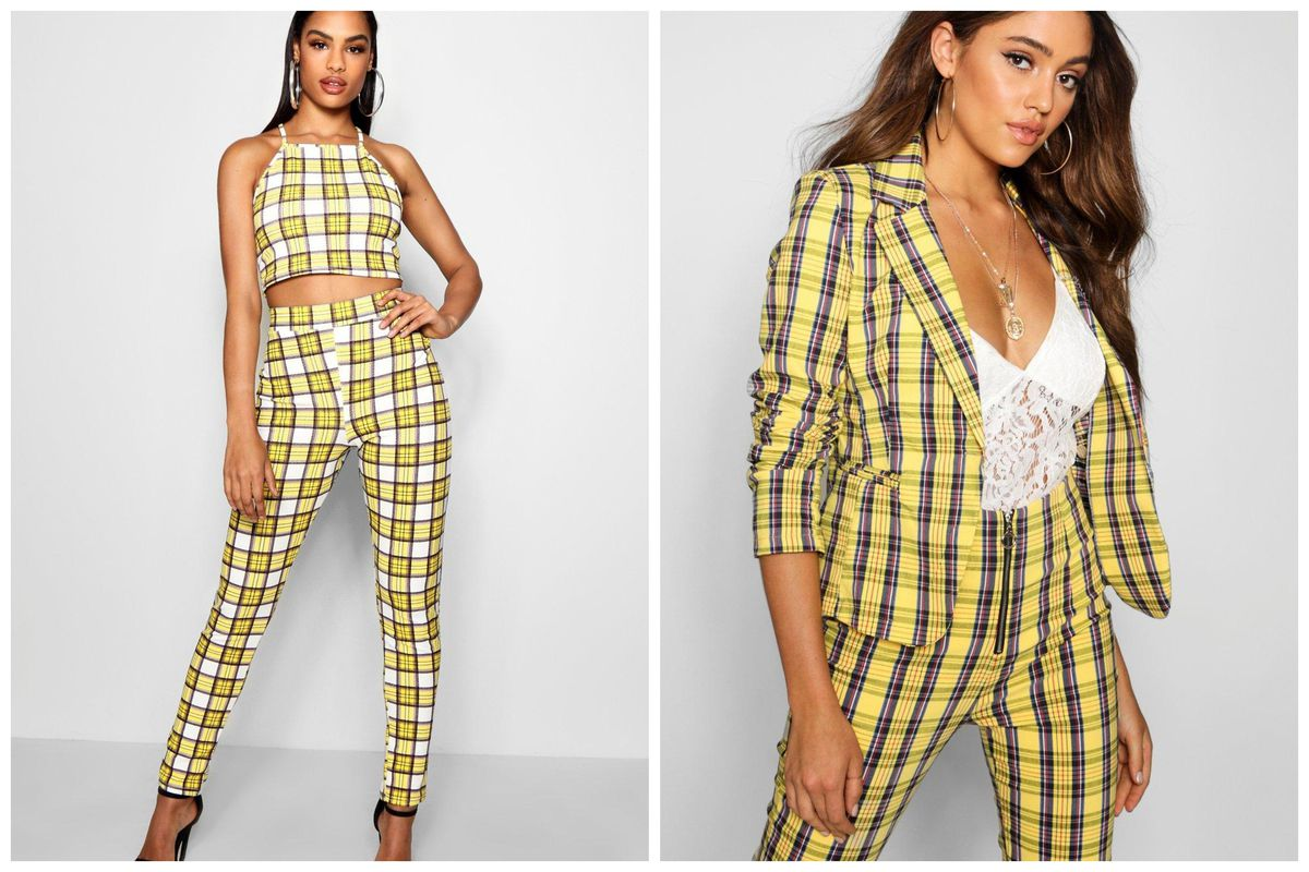 8b621f3d7 Cher's Yellow Plaid Outfit From Clueless Is Now at Forever 21, Urban ...