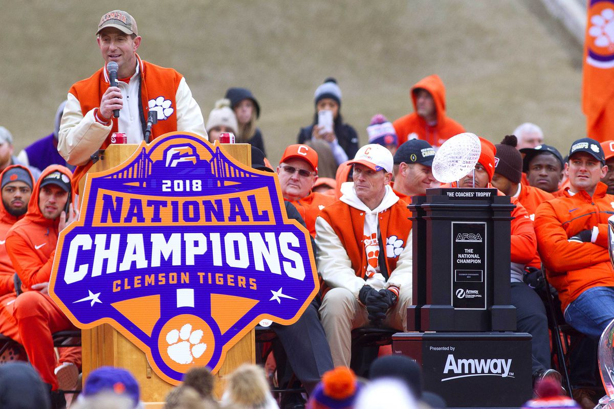 2019 Clemson National Signing Day Open Thread Shakin The Southland