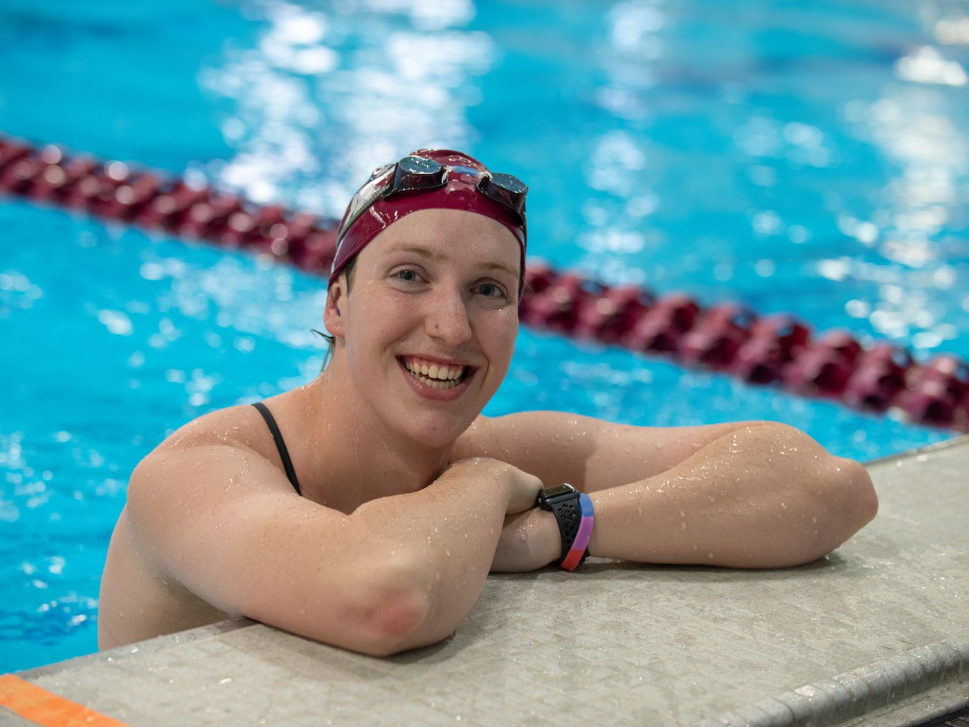 Trans College Swimmer Embraces Her True Self And Desire To Swim Outsports