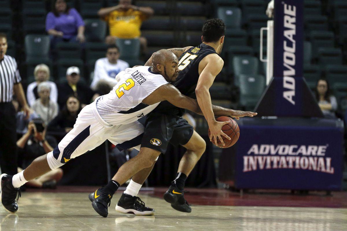 NCAA Basketball: Missouri at West Virginia