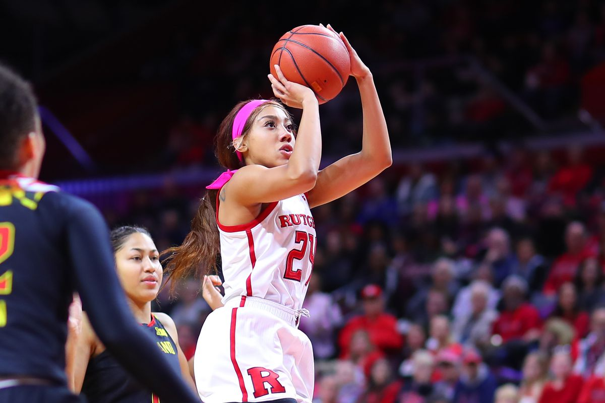 COLLEGE BASKETBALL: FEB 10 Women's Maryland at Rutgers