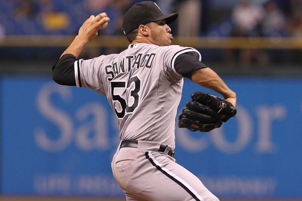 Hector Santiago will get a shot in the White Sox starting rotation.