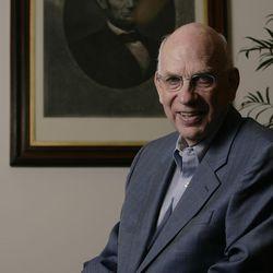 U.S. Senator Bob Bennett at his office in Salt Lake City, Utah, Sunday, Oct. 24, 2010.