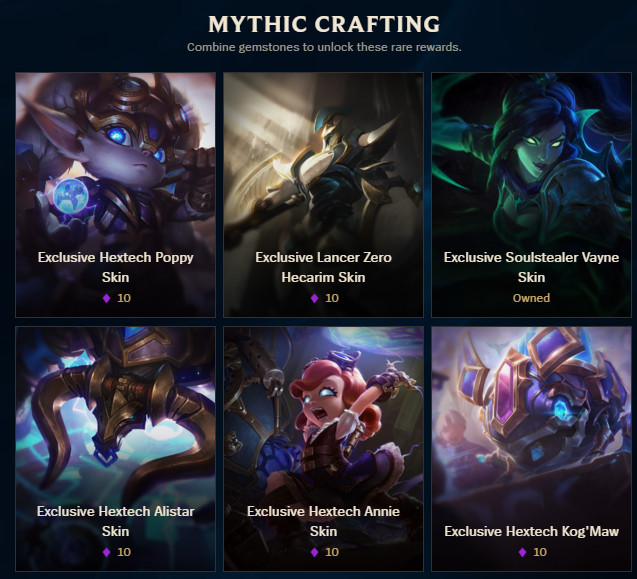 Hextech Crafting guide: Chests, keys and how to get skins