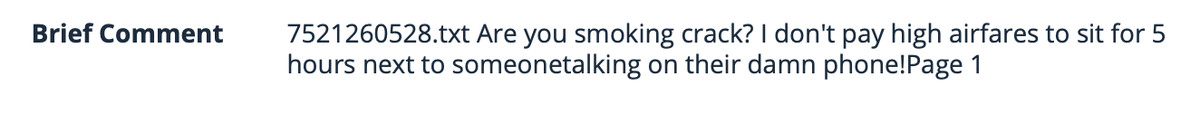"Comment on the FCC's website asking if the people making the proposal ""are smoking crack"""