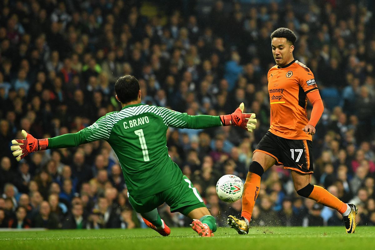 Manchester City v Wolverhampton Wanderers - Carabao Cup Fourth Round