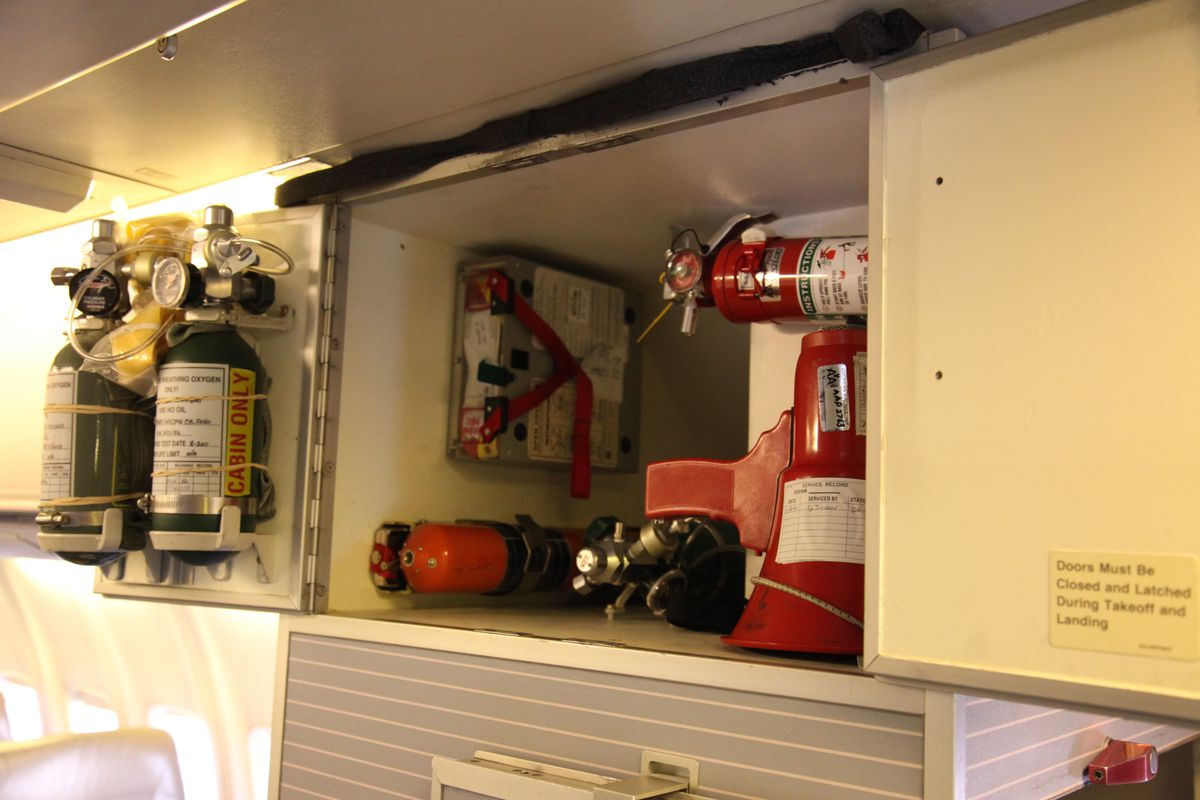A photo of an emergency locator transmitter.