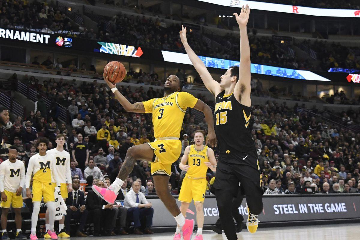 NCAA Basketball: Big Ten Conference Tournament-Iowa vs Michigan
