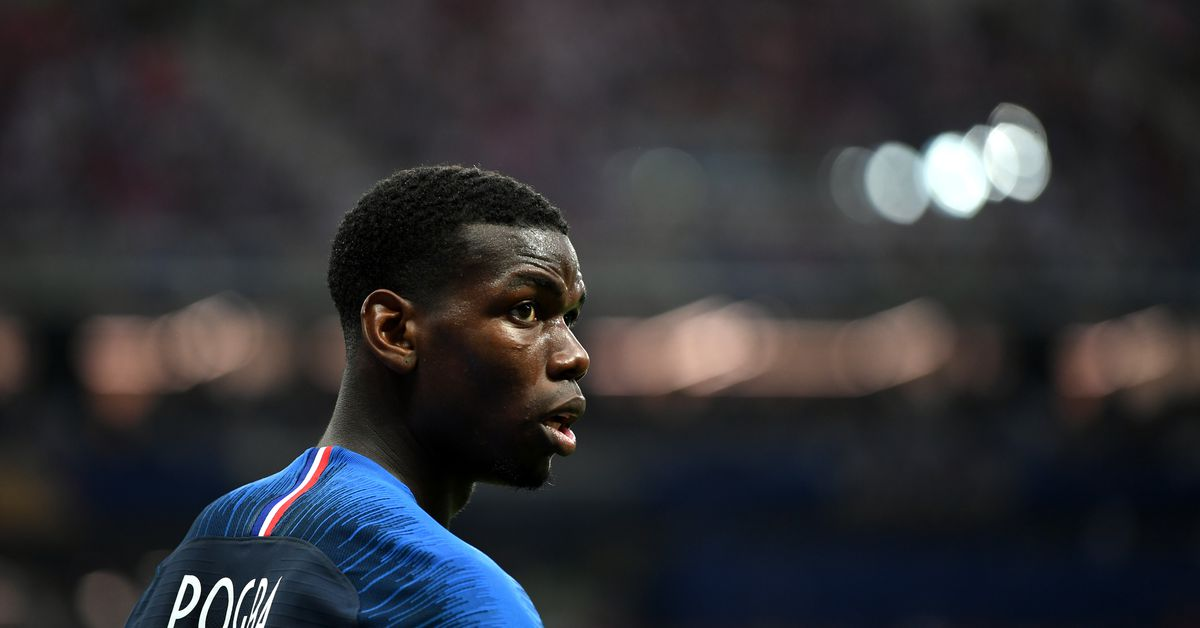 Paul Pogba's goal was great, but his initial pass was absolute perfection