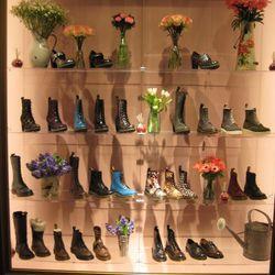 The girly, flowery display